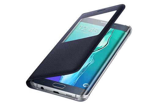 2. Samsung Galaxy S6 edge+ Case S-View Flip Cover Folio - Black Sapphire