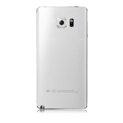 6. IC Iclover Clear Flexible Thin Case Cover TPU Gel, Transparent Crystal Back Case for Samsung Galaxy Note 5