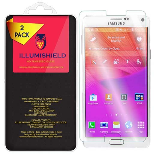 6. iLLumiShield HD Tempered Glass  Samsung Galaxy Note 5 Screen Protector