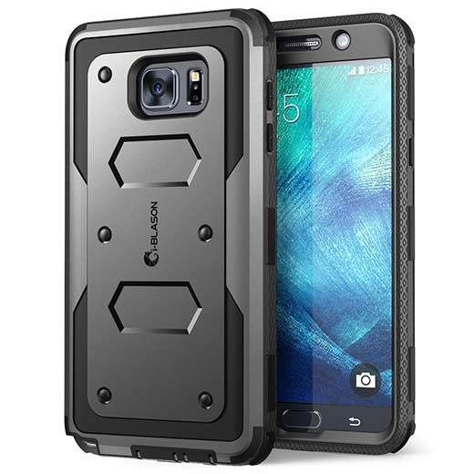 3. Galaxy Note 5 Case, i-Blason Armorbox Dual Layer Hybrid Full-body Protective Case For Samsung Galaxy Note 5 with Front Cover