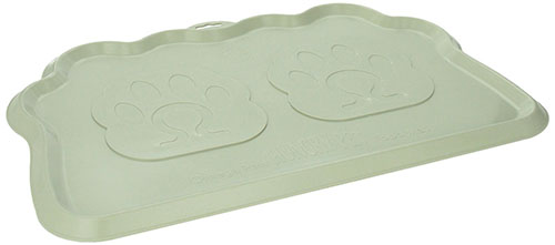 8. Omega Paw Pearilized Pebble Hungry Pet Mat
