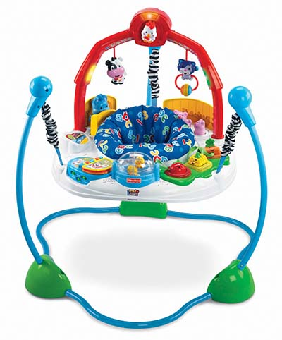 4. Fisher-Price Laugh & Learn Jumperoo