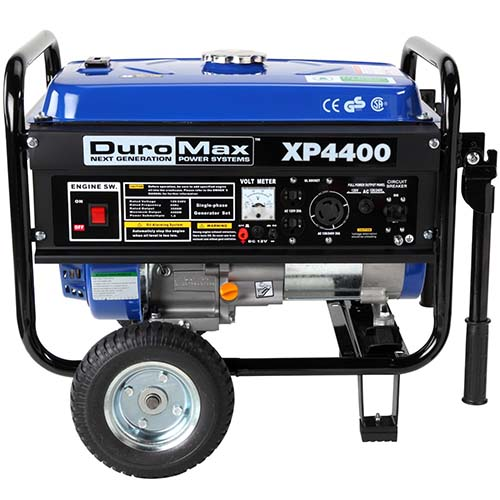 2. DuroMax XP4400 Gas Powered Portable Generator