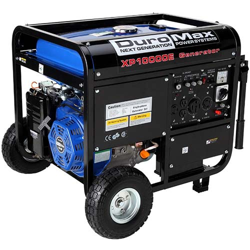 4. DuroMaxXP10000E gas powered generator