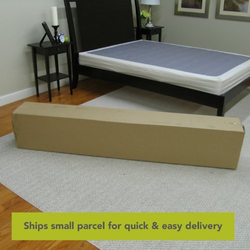 1. Classic Brands Instant Foundation for Bed Mattress, Easy To Assemble Box Spring, Queen Size