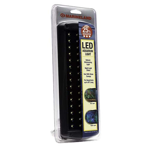 8. Marineland LED Aquarium Light, 11-Inch-