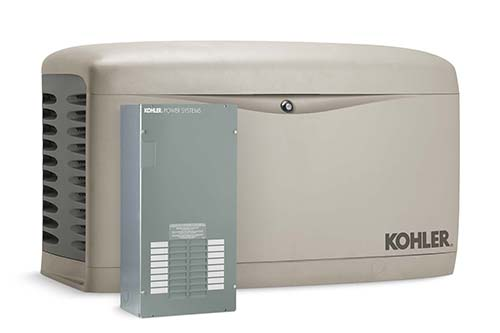 9. Kohler 14RESAL 14,000 – Watt Air – Cooled Standby Generator