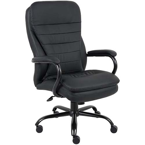 9. Heavy Duty Double Plush Office Desk Chair