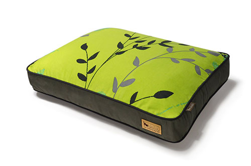 5. P.L.A.Y. Rectangular Bed with Eco-Friendly Filler and 100-Percent Cotton Cover
