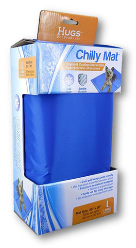 6. Hugs Pet Products Chilly Mat Large 36