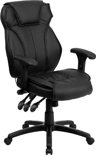 7. High Back Leather Chair