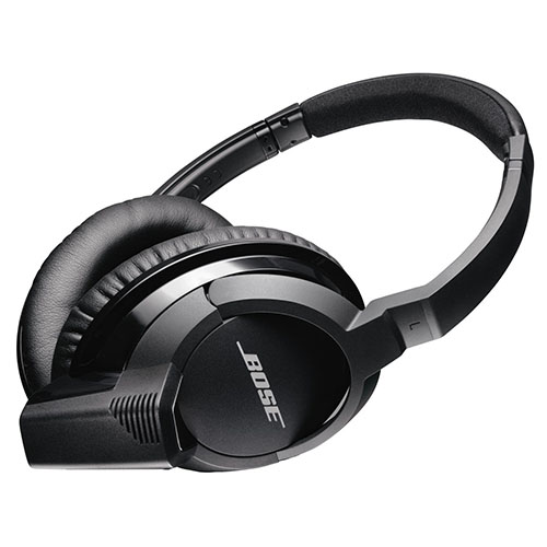 6. Bose SoundLink Around-Ear Bluetooth Headphones, Black