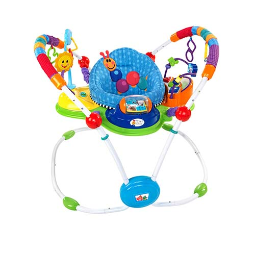 6. Baby Einstein Musical Motion Activity Jumper