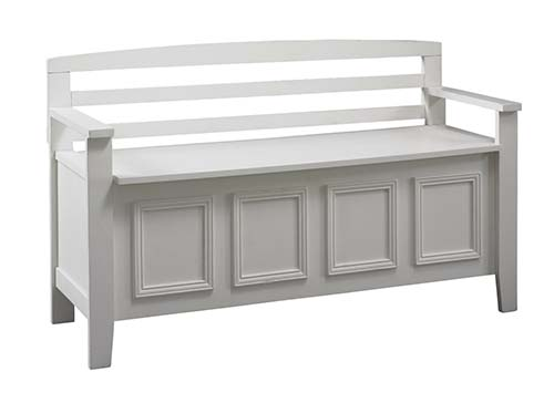 4. Linon Laredo Storage Bench