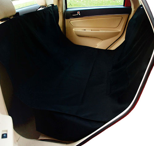 1. Krunco Waterproof Hammock Pet Car Seat Cover