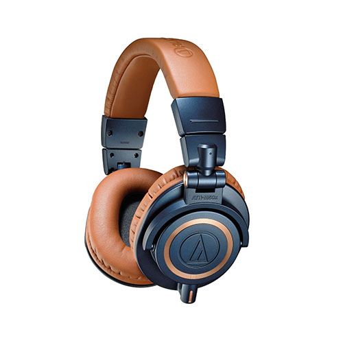 9. Audio-Technica ATH-M50xBL Professional Studio Monitor Headphones