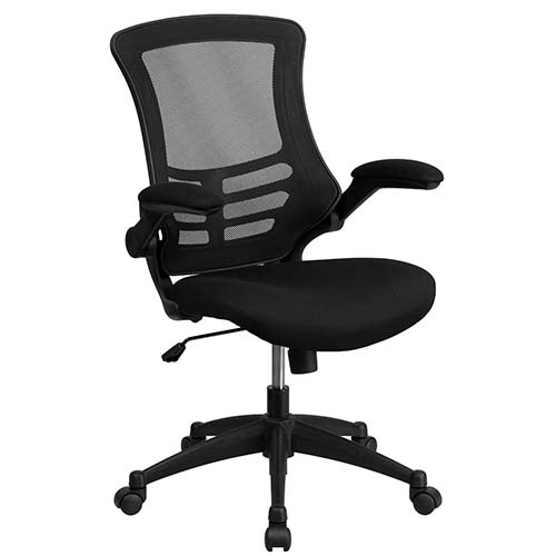 2. Flash Furniture's Mid-Back Mesh Chair