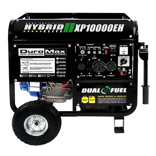5.  DuroMax XP10000EH Gas powered generator