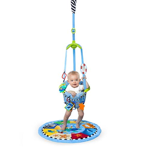 9. Baby Einstein 3-in-1 Jumper and Activity Mat