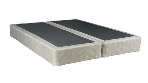 2. Continental Sleep 8-Inch Queen Size Assembled Split Box Spring for Mattress,Elegant Collection