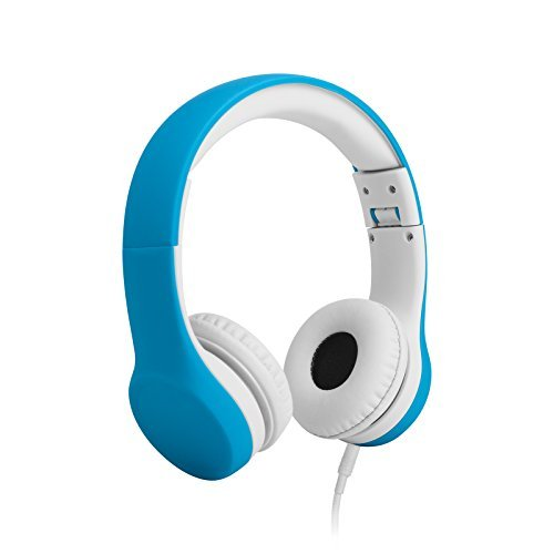 8. LilGadgets Connect+ Volume Limited Wired Headphones for Children (Blue)