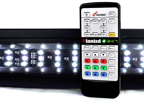 10. Finnex Planted+ 24/7 Fully Automated Aquarium LED, Controller