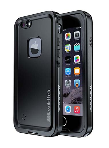 6. Waterproof iPhone 6 plus case;