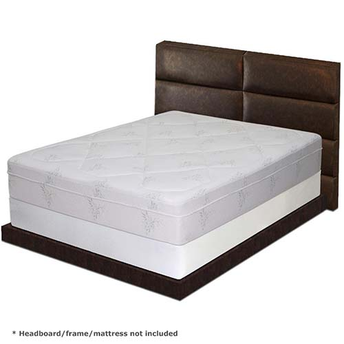 6. Best Price Mattress - New Steel Box Spring/Mattress Foundation, Queen