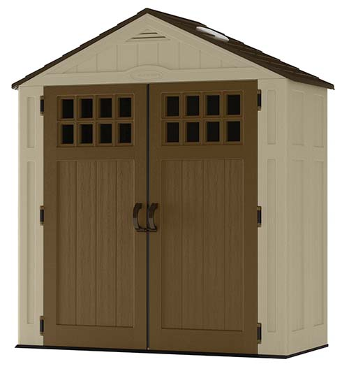 1. Suncast 6-Feet by 3-Feet Shed