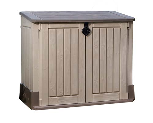 2. Keter Woodland Storage Shed