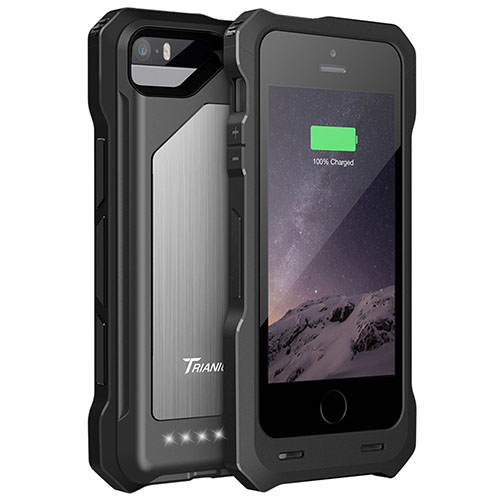 8. iPhone 6 Battery Case, [MFI Apple Certified] Trianium iPhone 6 Portable Charger