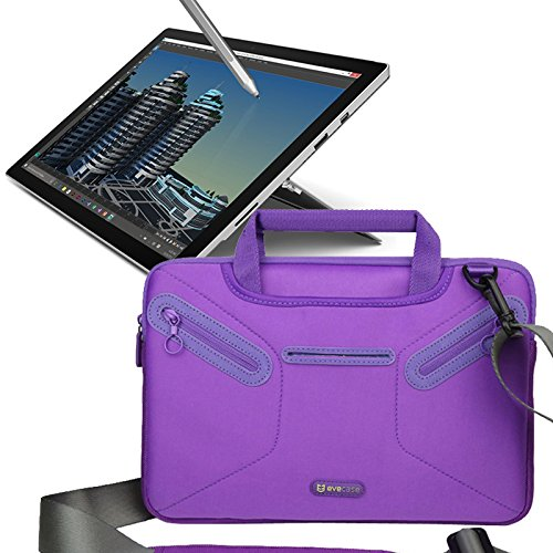 10. Evecase Microsoft Surface Pro 3 / Surface Pro 4 Case Bag