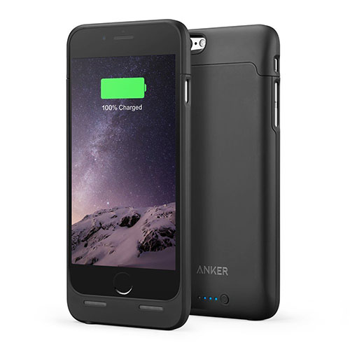 3. iPhone 6 6S Battery Case, Anker Ultra Slim Extended Battery Case for iPhone 6 6S