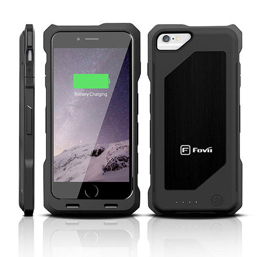 6. iPhone 6 Battery Case - MFi Certified - Doubles Battery Charge Without Extra Bulk