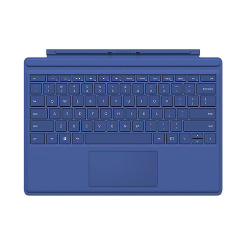 9. Microsoft Surface Pro 4 Type Cover (Blue)