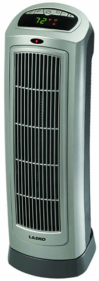 1. Lasko 755320 Ceramic Tower Heater with Digital Display and Remote Control