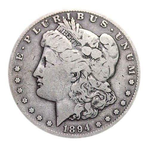 10. American Morgan Dollar Circulated 1878-1904