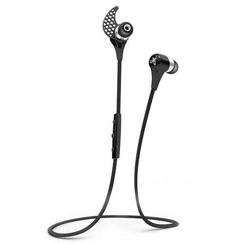1. JayBird BlueBuds X Sport Bluetooth Headphones - Midnight Black