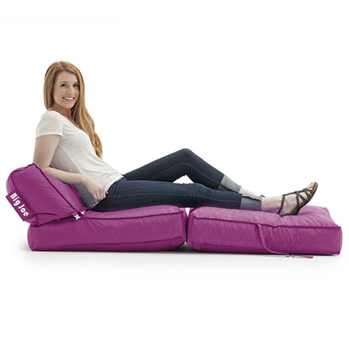 4. Big Joe Flip Lounger, Pink Passion