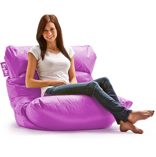 1. Big Joe Roma Lounge Chair, Radiant Orchid