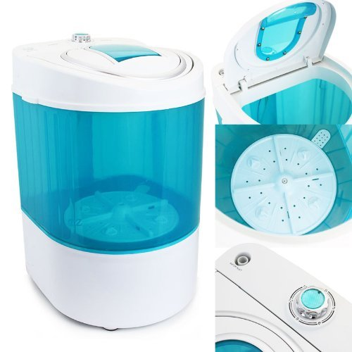 XtremepowerUS Electric Small Mini Portable Compact Washer Washing Machine