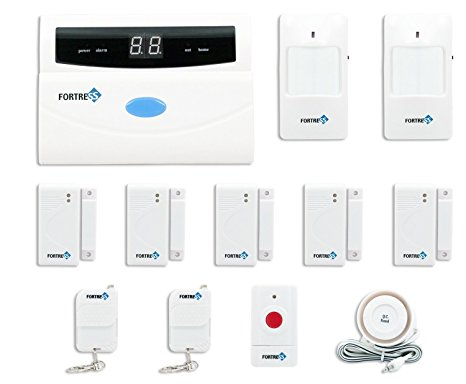 9. Fortress Security Store (TM) S02-A Wireless Home and Business Security Alarm System