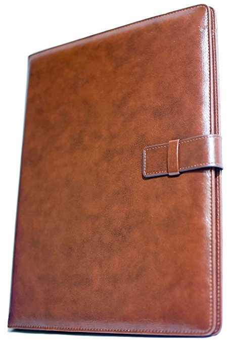 5. Professional Leather Business Resume Portfolio Folder