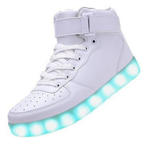 3. Light-Up Women's Men's Sport Shoes