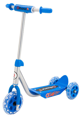 8. Razor Jr. Lil' Kick Scooter - Blue