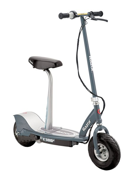10. Razor E300S Seated Electric Scooter