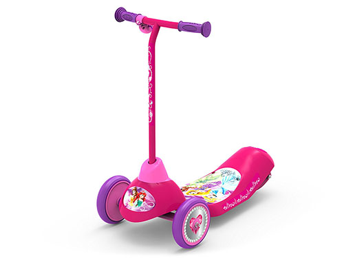 9. Pulse Performance Products Disney Princess Safe Start 3-Wheel Electric Scooter