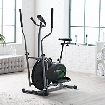 6. Body Rider BRD2000 Elliptical Trainer with Seat