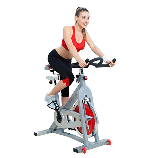 1. Pro Indoor Cycling Bike by Sunny Health & Fitness