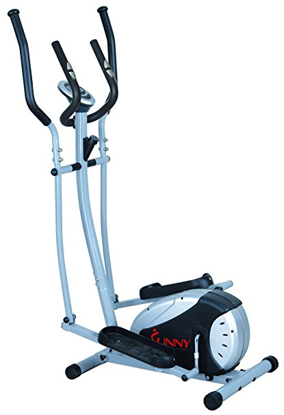 7. Elliptical Trainer with Hand Pulse Monitoring System